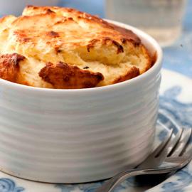 ricotta parmesan souffle-woman & home