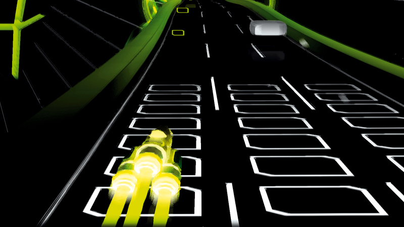Audiosurf game screen grab