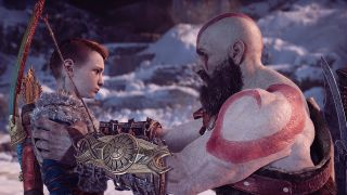 Kratos and Atreus in God of War