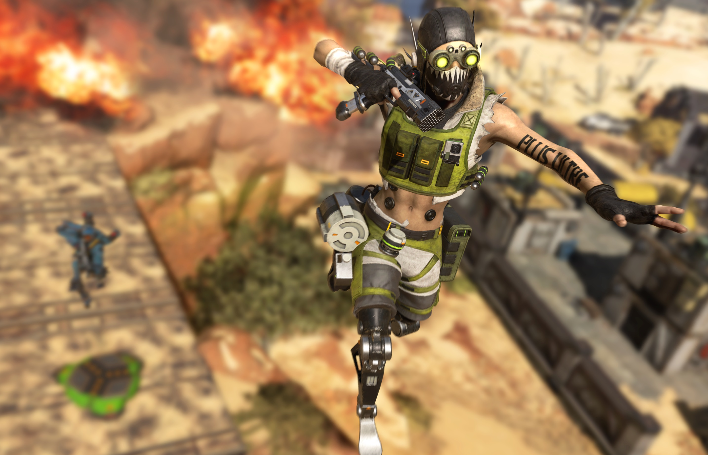 You can control Apex Legends' bin bug that catapults you across the map, apparently
