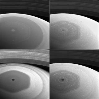 Saturn's Odd Hexagon