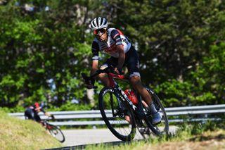 Vincenzo Nibali (Trek-Segafredo) at the Giro d'Italia