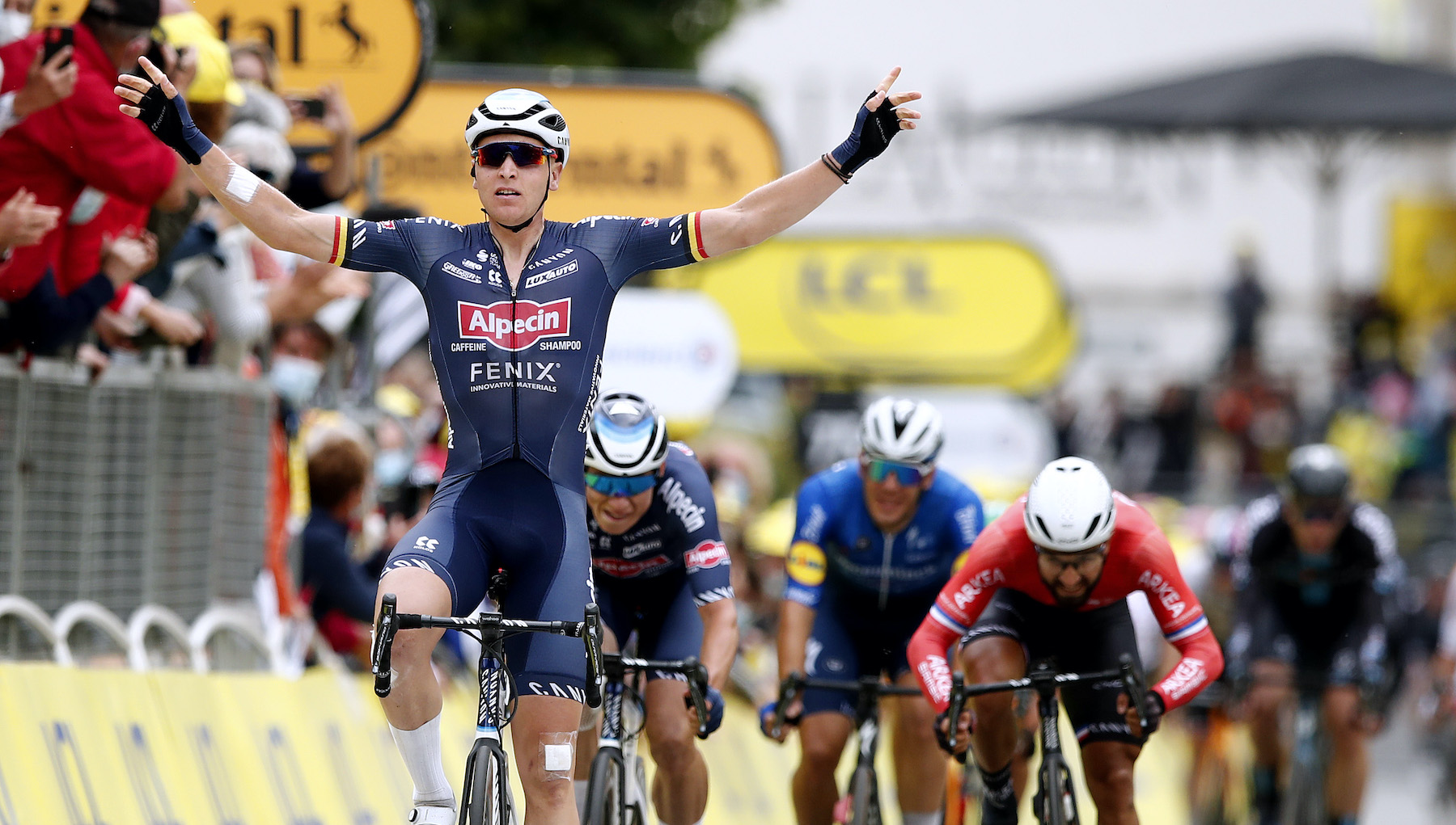 Tim Merlier wins stage three of the Tour de France 2021