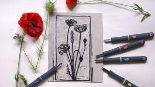 lino printmaking