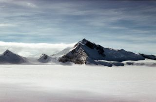 An image shows Mount Hope from the east.