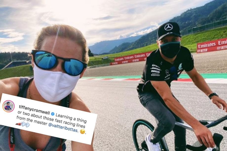 Tweets of the Week: Geraint Thomas mistaken for Froome and Tiffany Cromwell teaches Valtteri Bottas a few things