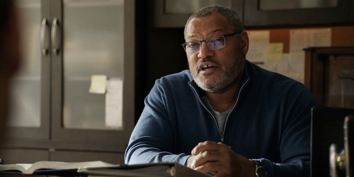 Laurence Fishburne in Ant-Man and the Wasp