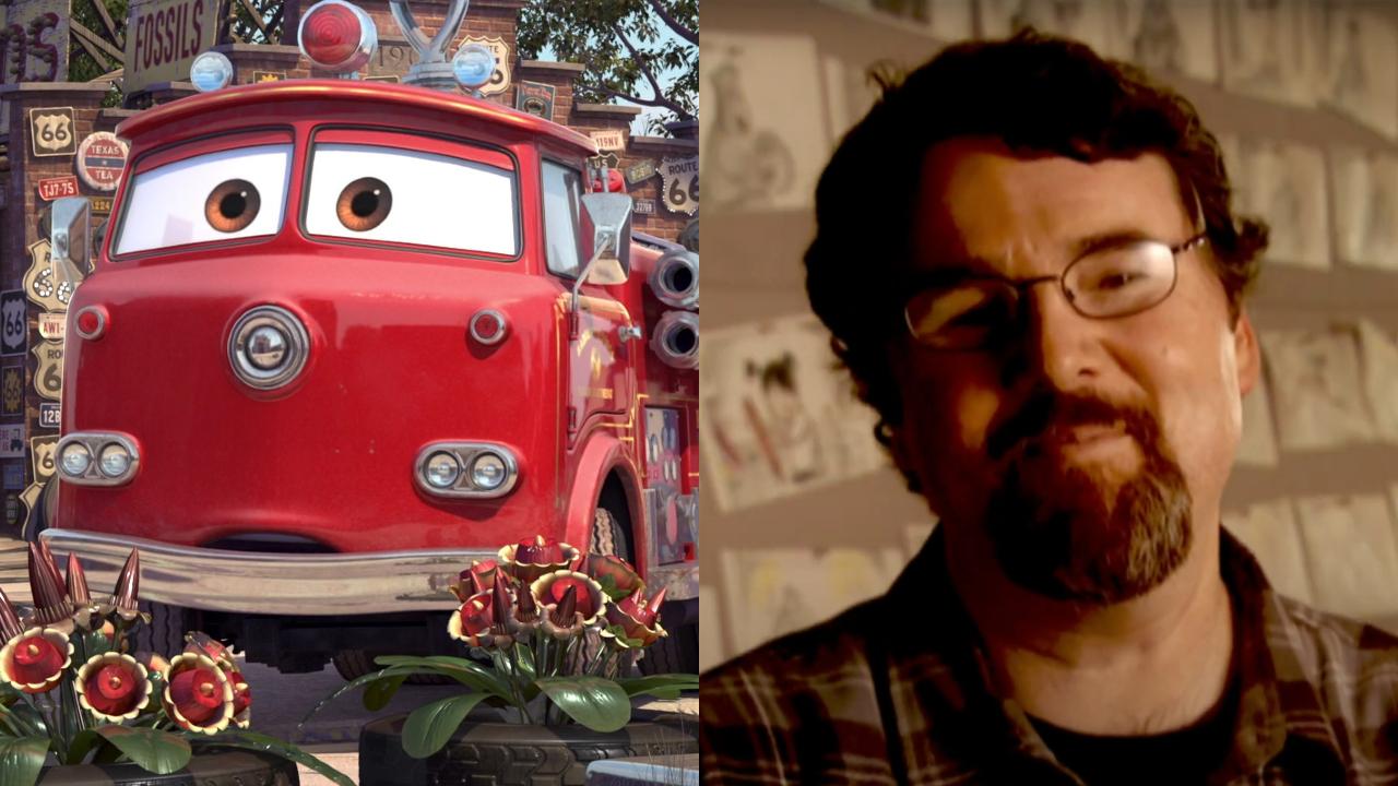 Red in Cars; Joe Ranft in Celebrating Our Friend Joe Ranft