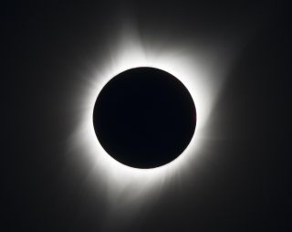 A total solar eclipse is seen on Monday, August 21, 2017 above Madras, Oregon. Another total solar eclipse will be visible across North America on April 8, 2024.