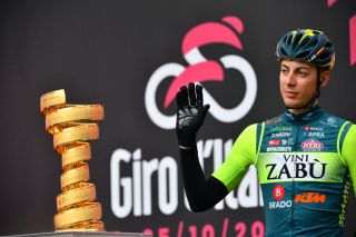 Matteo Spreafico (Vini Zabu) tested positive at the 2020 Giro d'Italia
