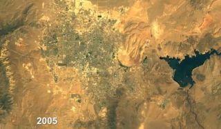 Visualizing Las Vegas sprawl