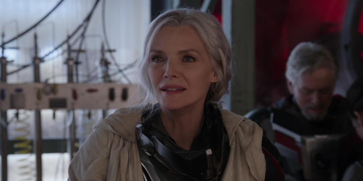 Michelle Pfeiffer in Ant-Man 2