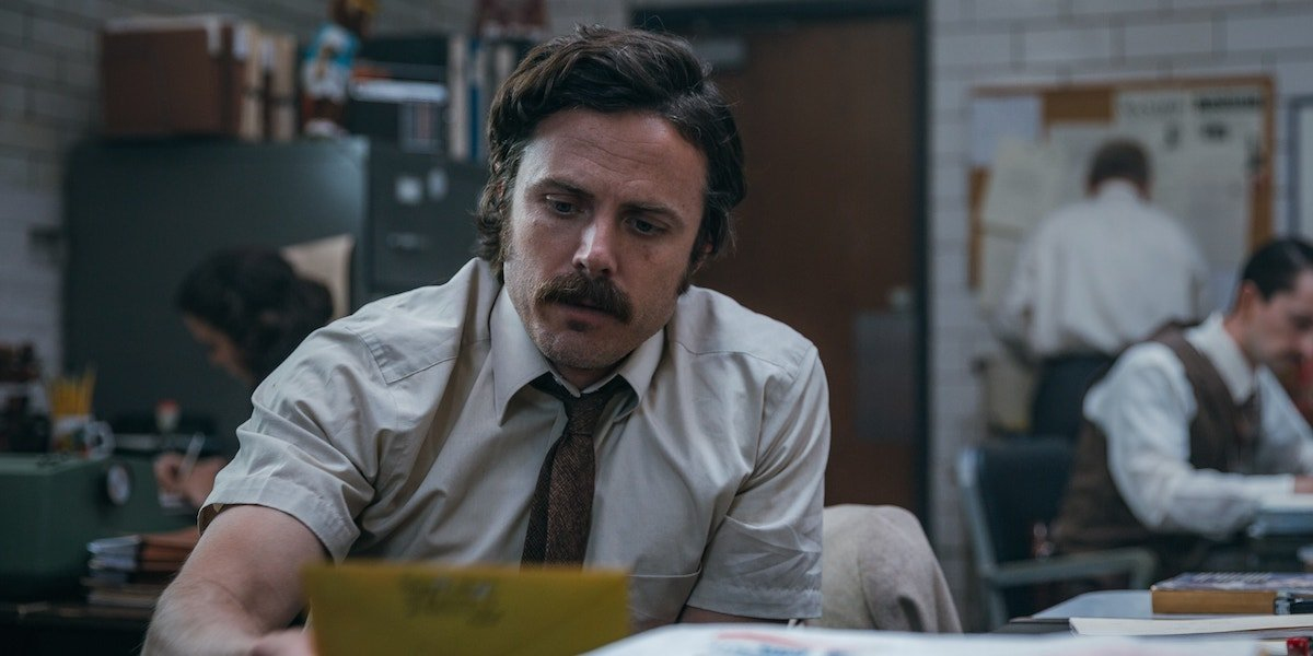 Casey Affleck in The Old Man and the Gun