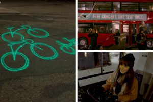 Watch: Blaze uses London bus and brass band to highlight blind spots