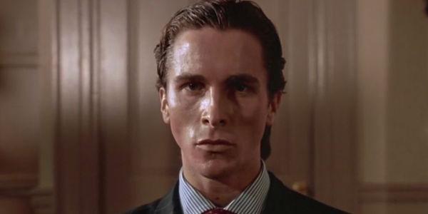 Patrick Bateman during American Psycho's final scene