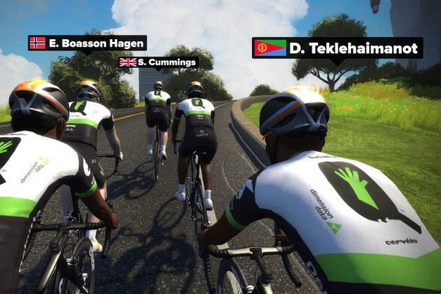 206d7fa3d 21-year-old lands professional contract with Dimension Data after  impressing with rides on Zwift