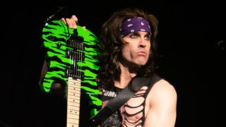 Satchel of Steel Panther performs live