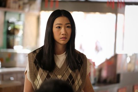 """Kung Fu -- \""""Attachment\"""" -- Image Number: KF111a_0006r.jpg -- Pictured: Olivia Liang as Nicky Shen -- Photo: Bettina Strauss/The CW -- © 2021 The CW Network, LLC. All Rights Reserved Photo Credit: Bettina Strauss"""