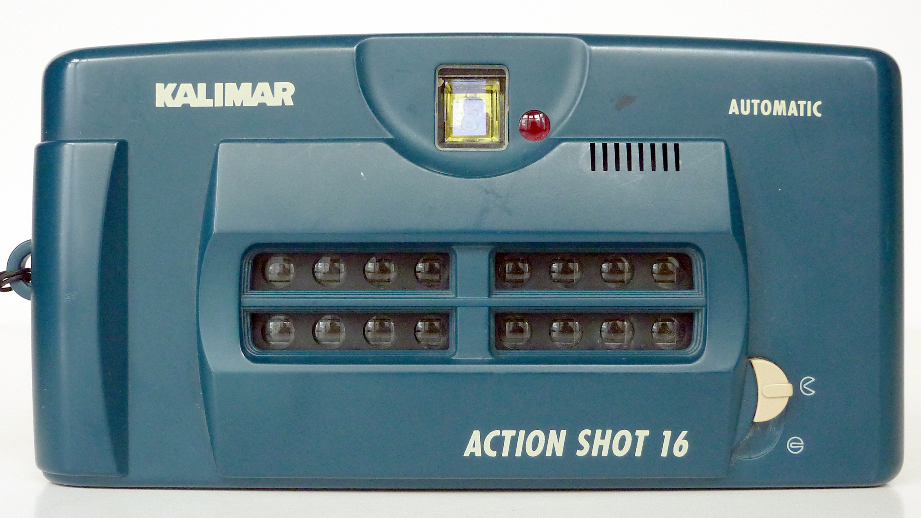 The front of the Kalimir Actionshot 16 camera