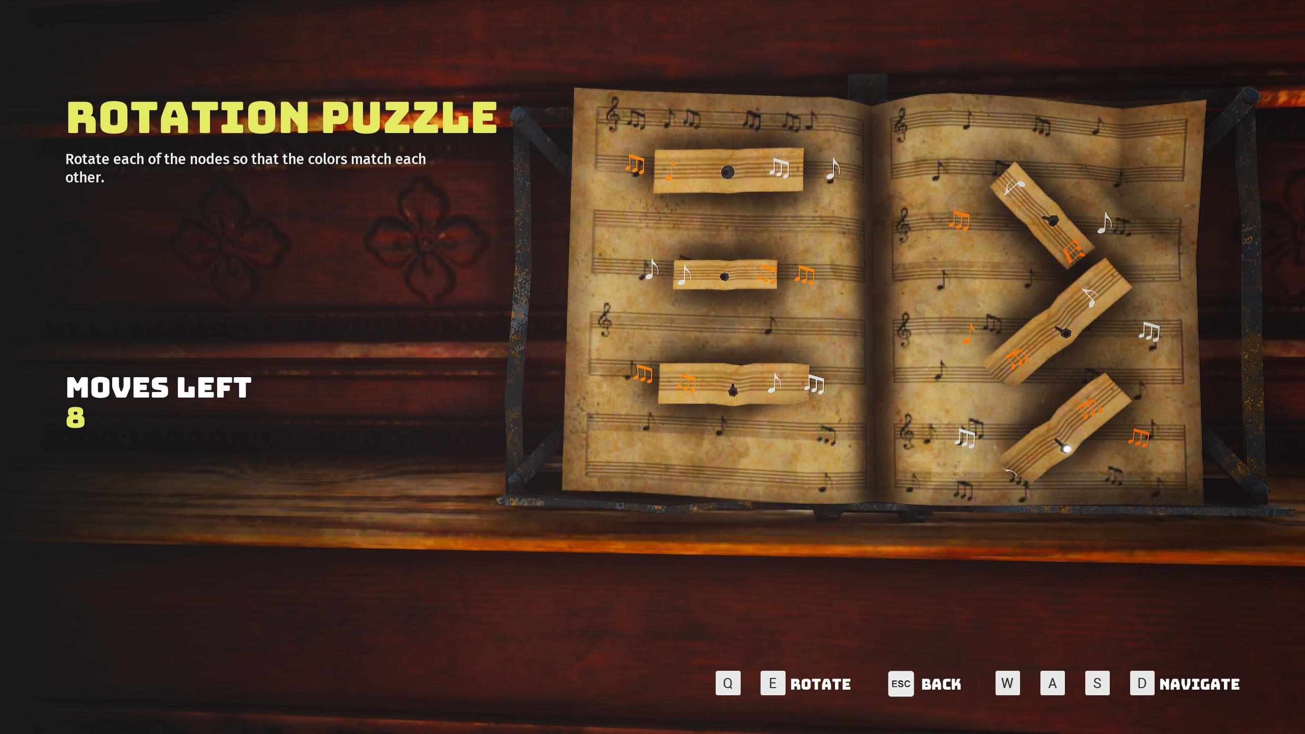 Biomutant music puzzle