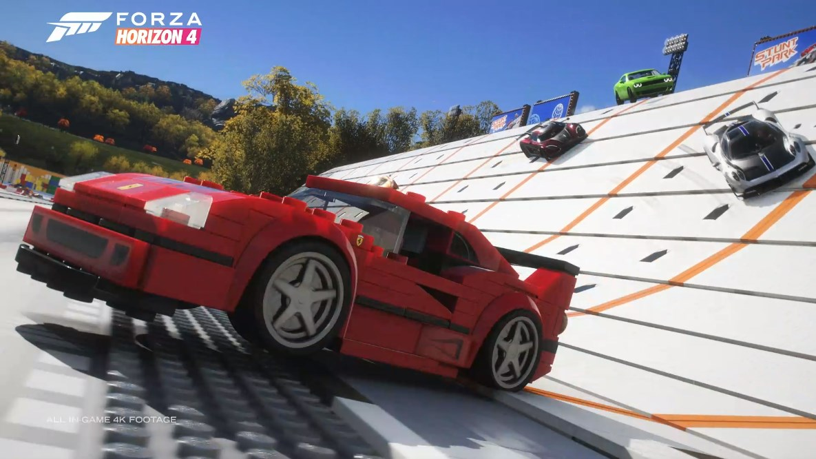 Forza Horizon 4 is getting a Lego makeover and it looks