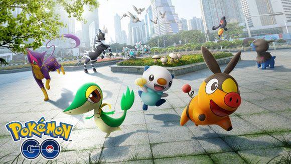 Pokémon Go sees a host of Gen 5 Unova Pokemon released into the wild