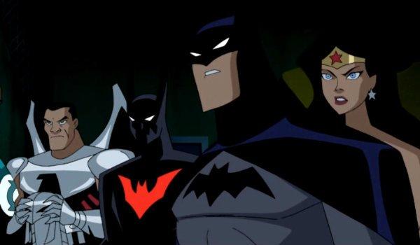 Justice League Unlimited Batman Beyond