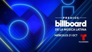 Key art for Telemundo's Billboard Latin Music Awards