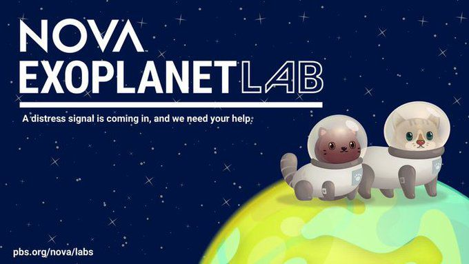 Finding life on alien worlds? PBS Nova's Exoplanet Lab game tells you how!