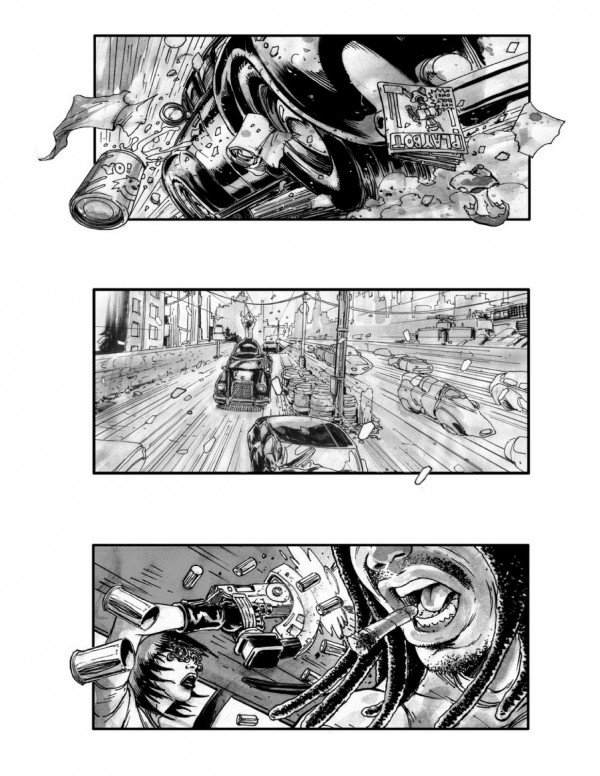 Neuromancer Storyboards Reveal Movie That Might Have Been #5298