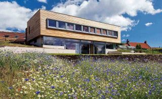 A Sloping Site Passivhaus