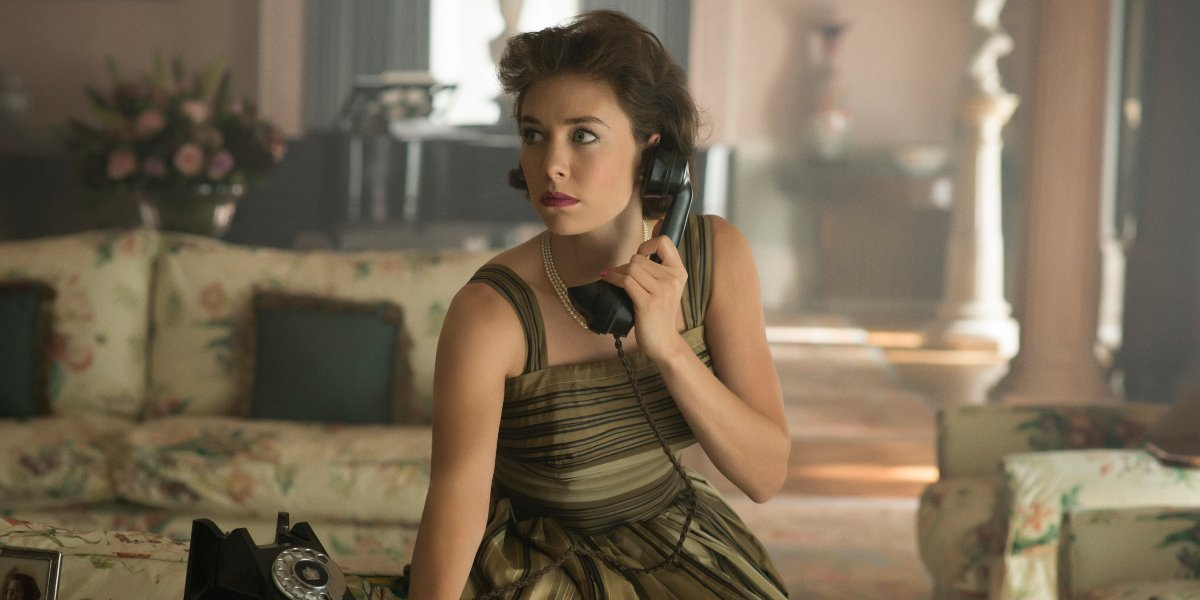 Vanessa Kirby on The Crown