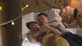 Liam and Mercedes in Hollyoaks