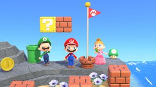 Animal Crossing: New Horizons Super Mario