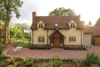 Small oak frame homes