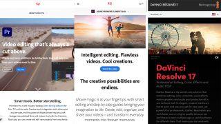 DaVinci Resolve vs Adobe Premiere Pro vs Adobe Premiere Rush
