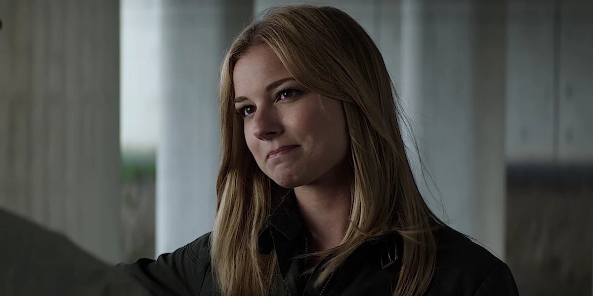 Emily VanCamp in Captain America: Civil War