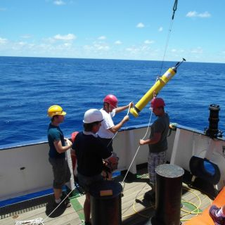 A mermaid sensor is launched in the Indian Ocean