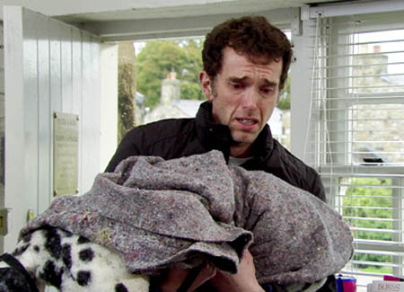 Marlon begs Paddy to save his dog!
