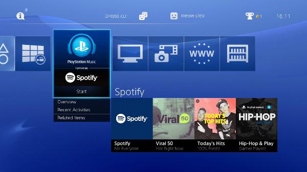 Spotify on PS4 Is Music Nerd Heaven   Tom's Guide