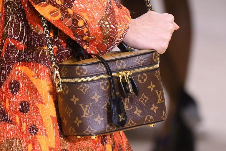 Louis Vuitton bag close up