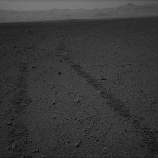 Mars by the rover Curiosity