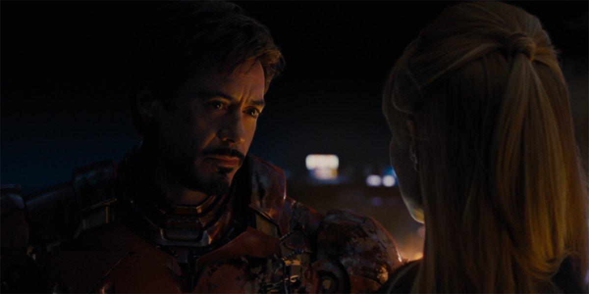 Iron Man 2 Nick Fury and Iron Man