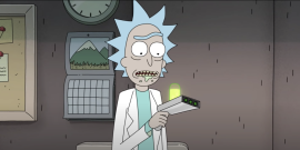 Great Scott: Rick And Morty Revealed Christopher Lloyd As Rick, And It's Amazing