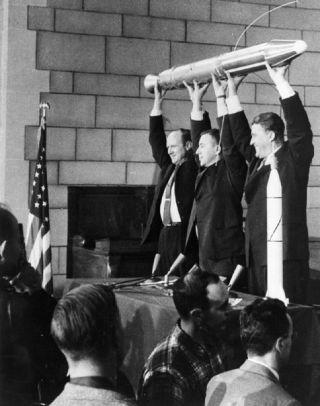Space Science Pioneer Van Allen Questions Human Spaceflight