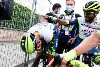 Taco Van der Hoorn wins stage 3 at the 2021 Giro d'Italia