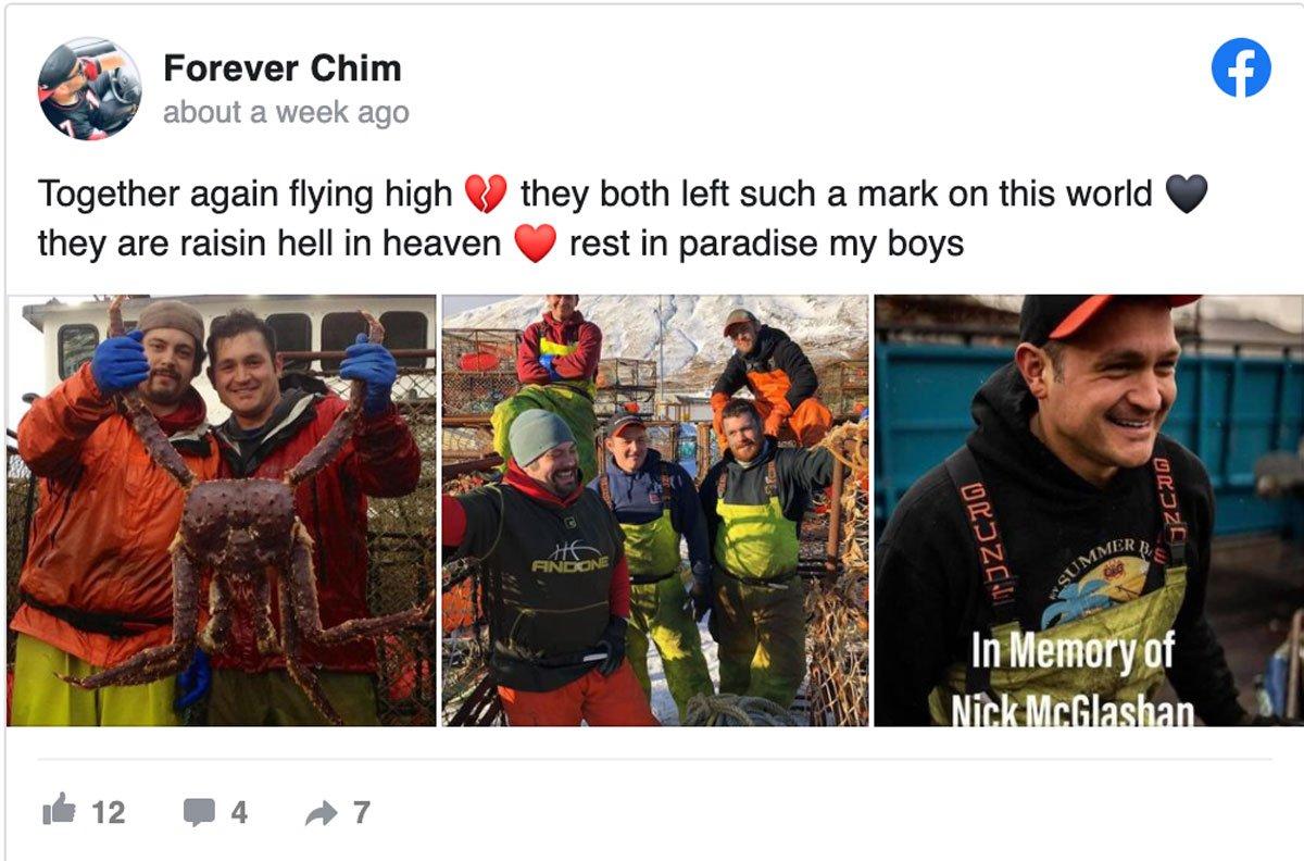 Heather Sullivan post about Nick McGlashan and Mahlon Reyes