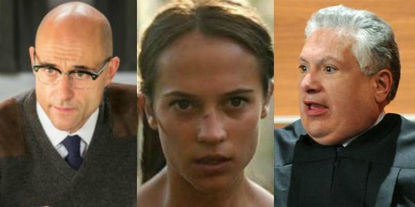 Mark Strong Kingsman Alicia Vikander Tomb Raider Harvey Fierstein The Good Wife