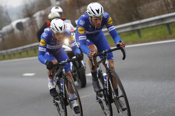 Quick-Step's Yves Lampaert and Niki Terpstra
