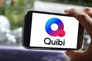 The Quibi logo on its app